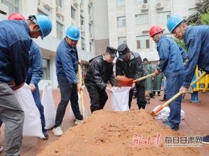国网甘肃检修公司:实战应急演练筑牢防汛安全堤